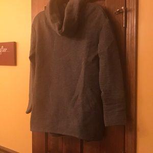 Gray Merona cowl neck tunic